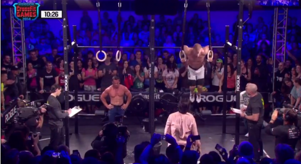 Panchik vs Bridges CrossFit 14.4 workout