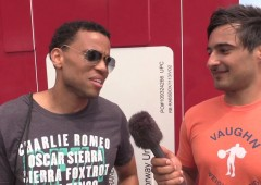 Hollywood Actor Michael Ealy at the 2014 CrossFit Games